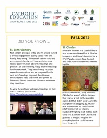 Cover page of Did You Know Newsletter